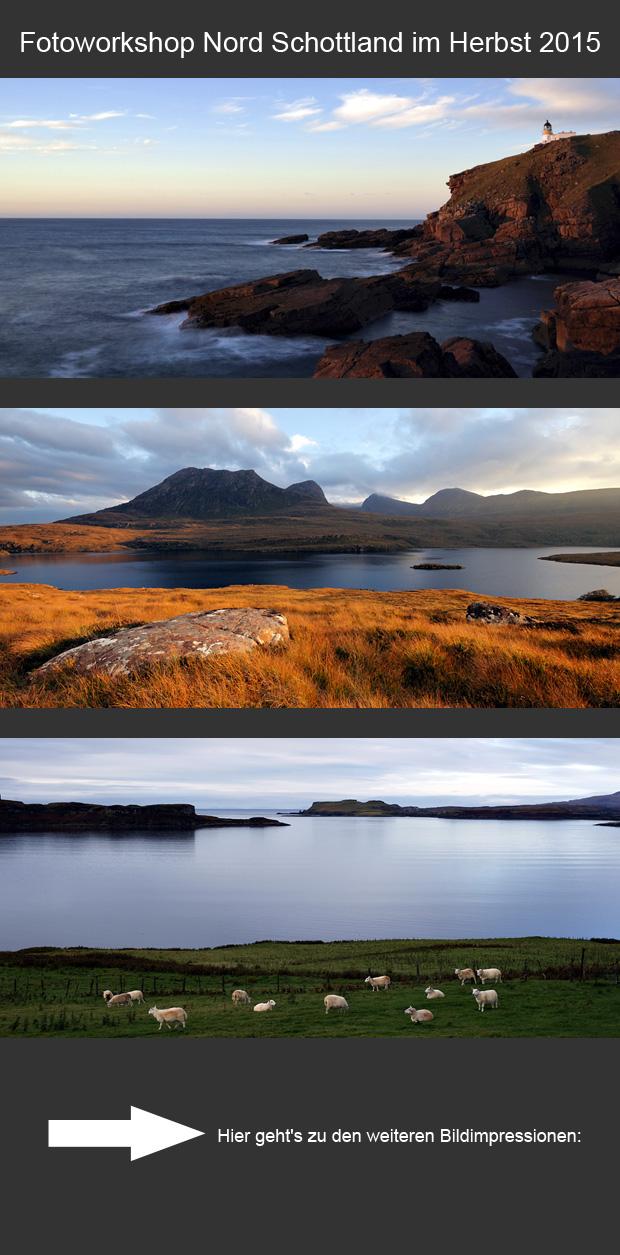Grafik Fotoworkshop Schottland 2015